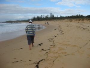 tuross head beach walk monica