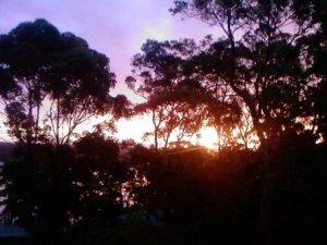 tuross head sunset